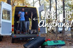 Seriously, ask us anything about our yearlong Simply Adventure climbing trip!