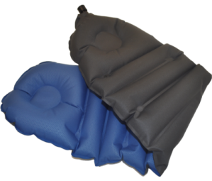 The Klymit Cush Pillow and Seat is a sweet inflatable camping tool.