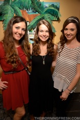 My favorite FSU ladies, Marisa and Brooke, drove to Miami to surprise me at my going-away party - love them!